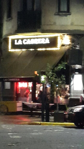 Fachada La Cabrera