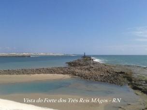 Vista do Forte dos Três Reis Magos - RN