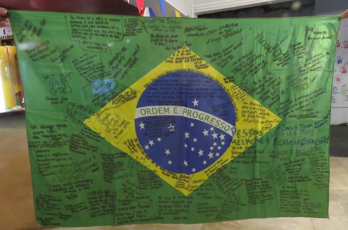 Carta de um gringo ao povo brasileiro!