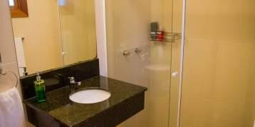 Banheiro da suíte dupla