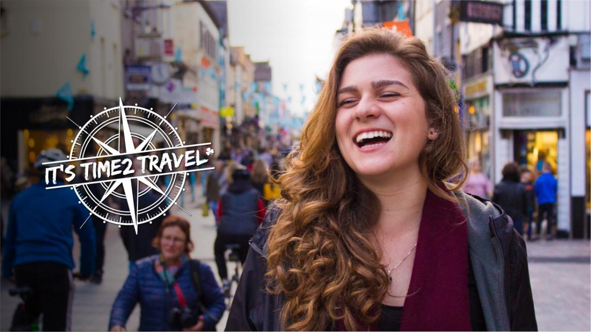 """Web Série do concurso """"Eu na Irlanda - It's Time2 Travel"""""""