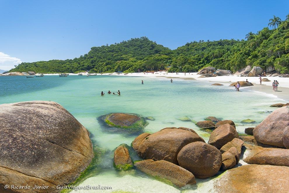 Ilha Campeche em Florianópolis